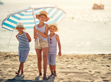 Vacation in the sun: protection for the whole family!