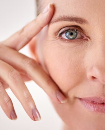 How does menopause affect your skin? Loss of firmness, dry skin