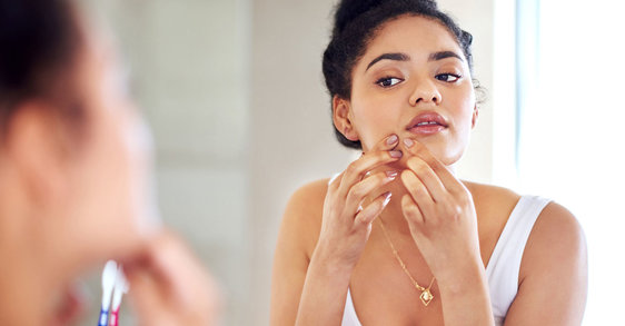 What is hormonal acne and how can a skincare routine help?