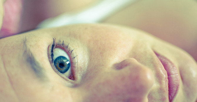 What really causes dry skin and dark circles under eyes?