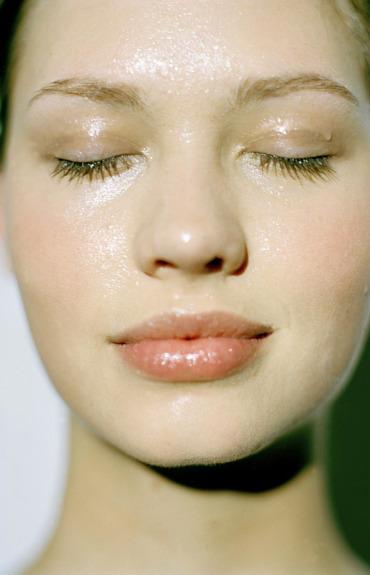 dehydrated sensitive skin